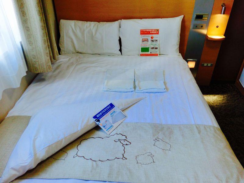 快眠を追及したコンフォートホテル大阪心斎橋!ひつじルームでごゆっくり♪