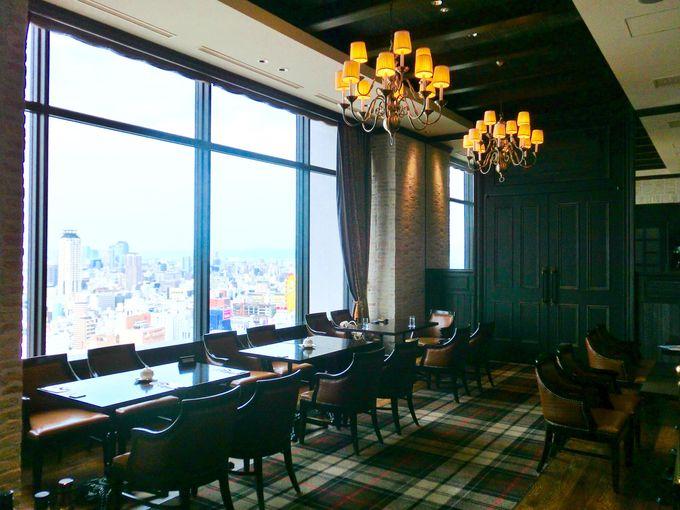 大阪の眺望と共にお食事はいかがですか?