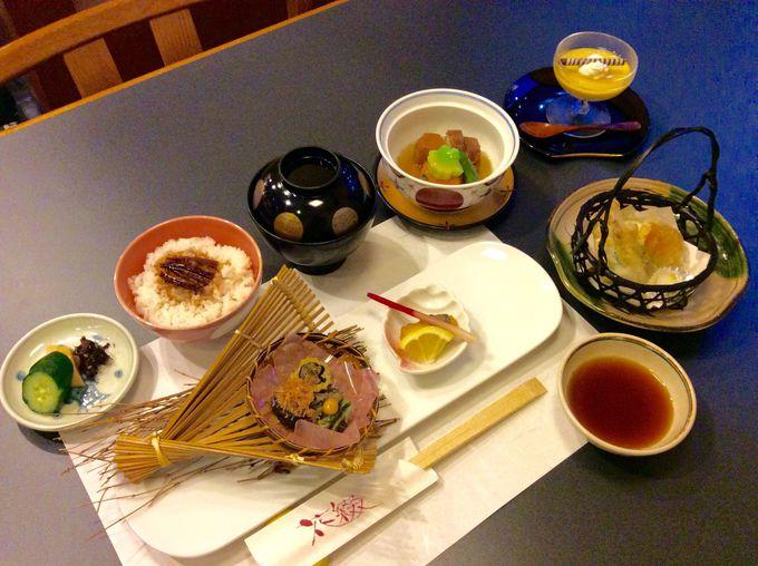 四季折々の味が楽しめる「和食堂 花綴」