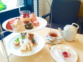 アフタヌーンティーが楽しめる大阪のホテル9選 優雅な至福の時間を