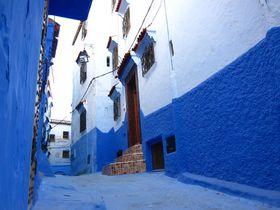 まるでメルヘン!モロッコ・シャウエンの幻想的な旧市街