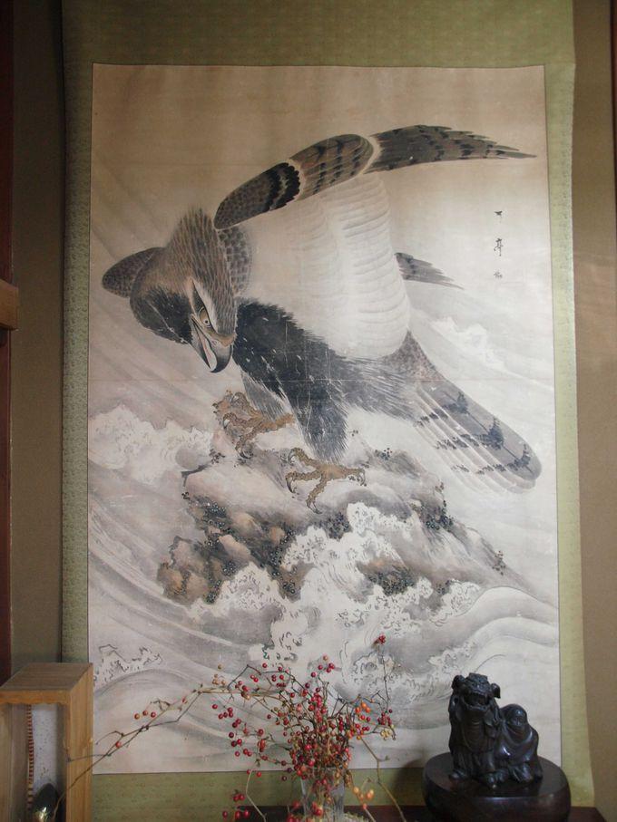 ここは博物館??江戸時代の美術品が、目の前に