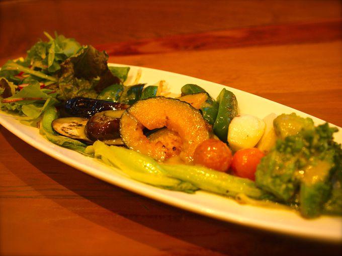 野菜の味がぎゅっと凝縮した「魚沼畑」。