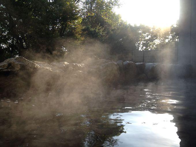 朝の入浴は5:00からOK!贅沢な湯浴みを。