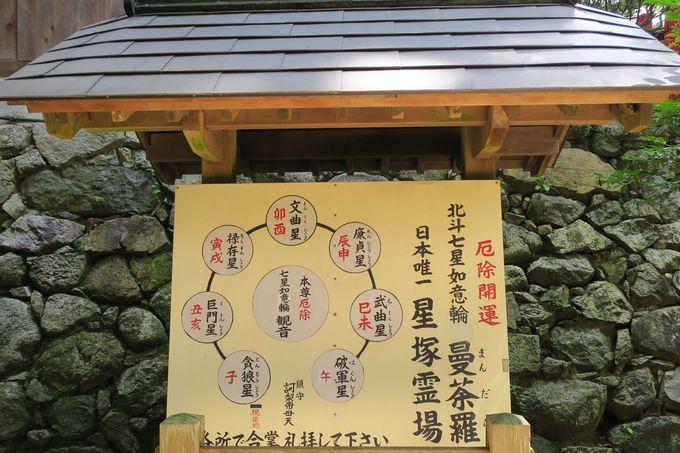 日本にココだけ!北斗七星のパワスポ「星塚霊場」