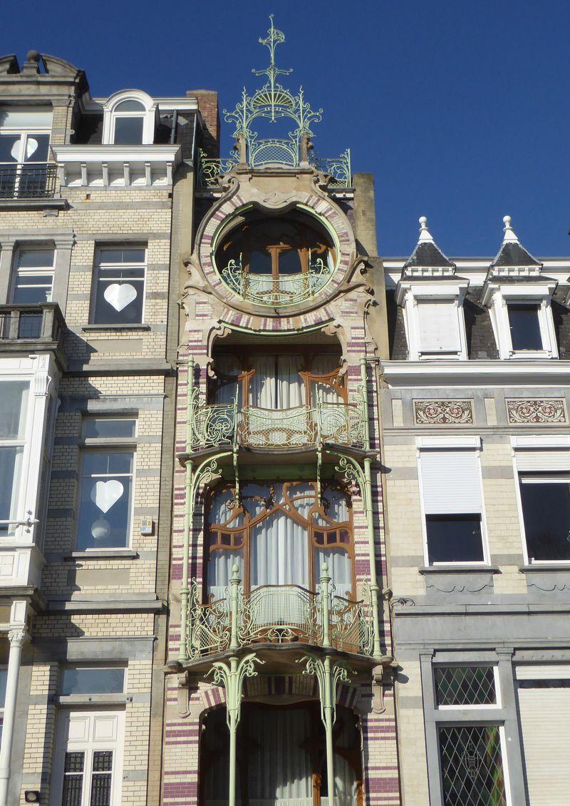 建築家の作風毎に巡る!ブリュッセル「アールヌーヴォー建築」