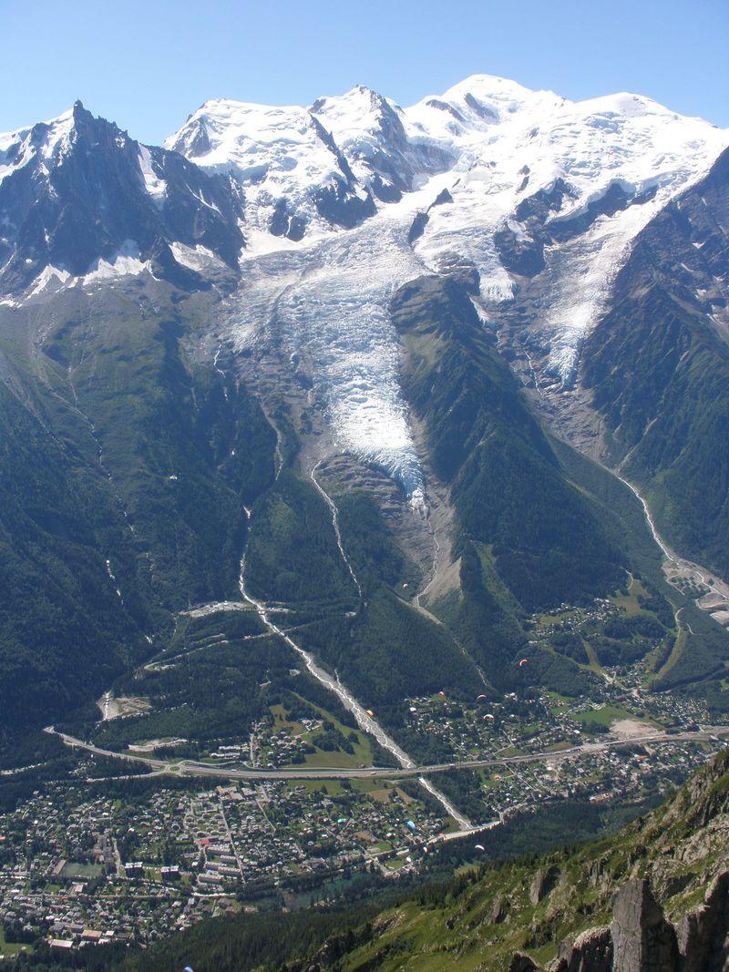 モンブランとボソン氷河が大迫力の眺め!ブレヴァン展望台へ