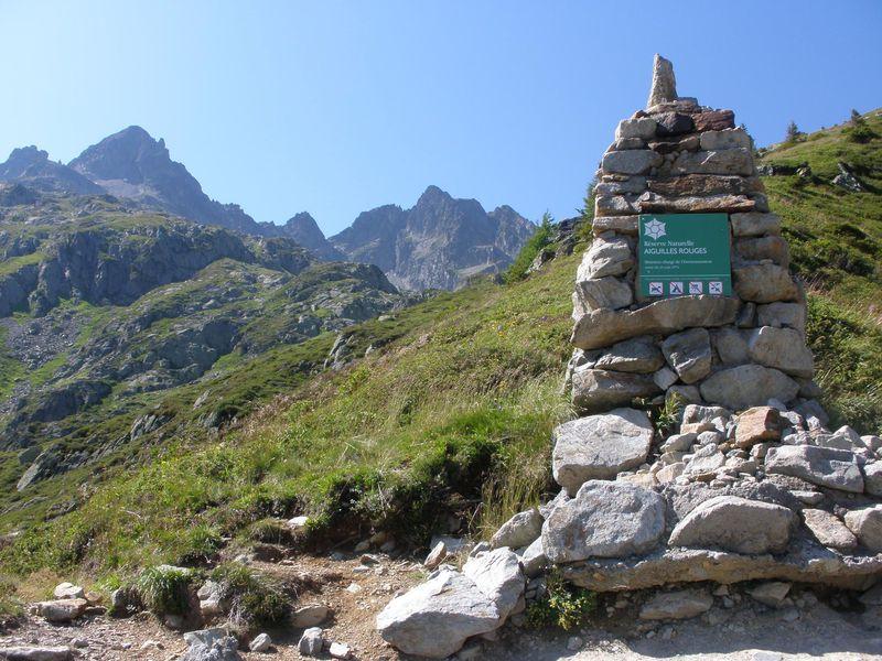 フレジェールへのハイキングコースを下りプラへ