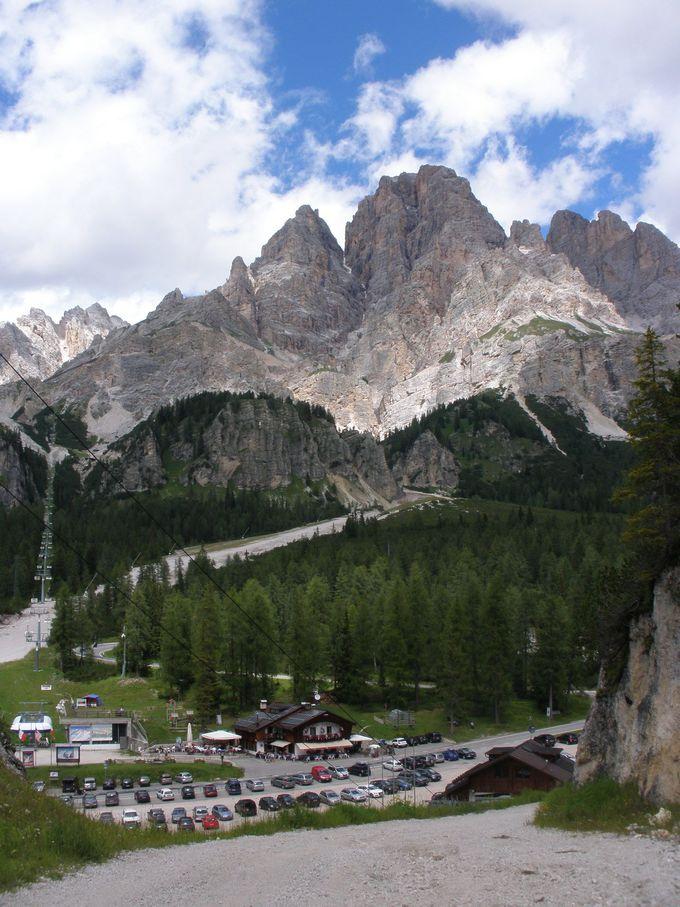 フォローリア山からハイキング