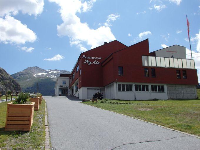 氷河と山並みの絶景「ディアヴォレッツァ展望台」