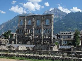 「アルプスのローマ」こと北伊「アオスタ」でローマ時代へGO!