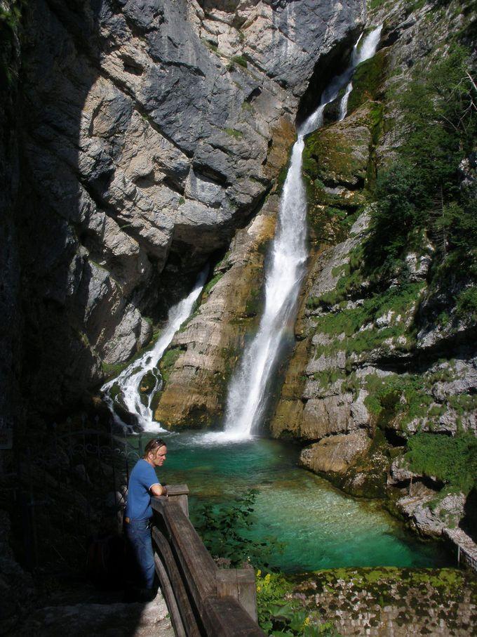 サヴァ川の源流!サヴィッツァの滝へハイキング