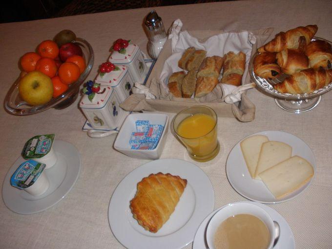 シンプルでも心のこもった美味しい朝食