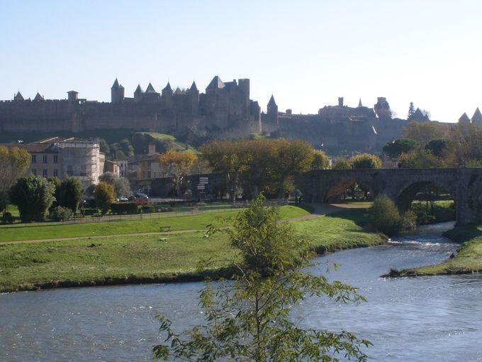オード川から眺めるシテの全景