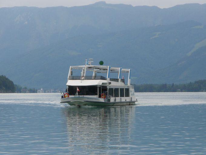 遊覧船や登山列車、ロープウェイと乗り物をたっぷり楽しもう!