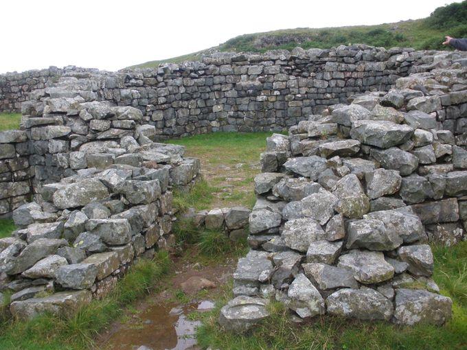 ハードノットのローマ砦跡
