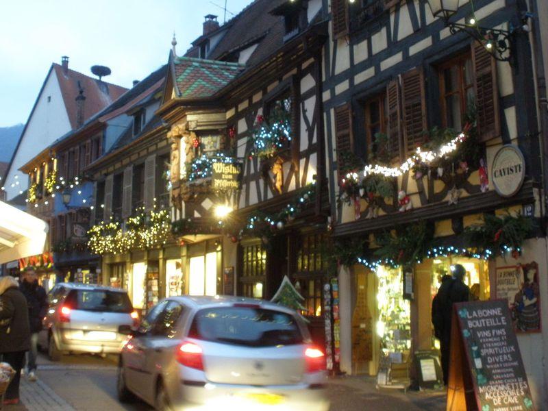 クリスマスに一層華やぐ町!仏・アルザス地方「リボーヴィレ」