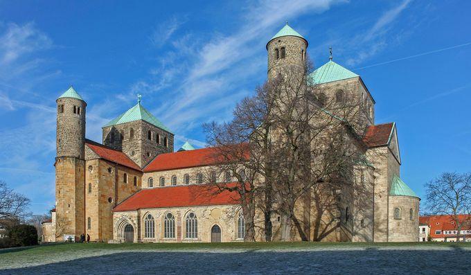 世界遺産の教会二つ!聖マリア大聖堂と聖ミヒャエリス教会