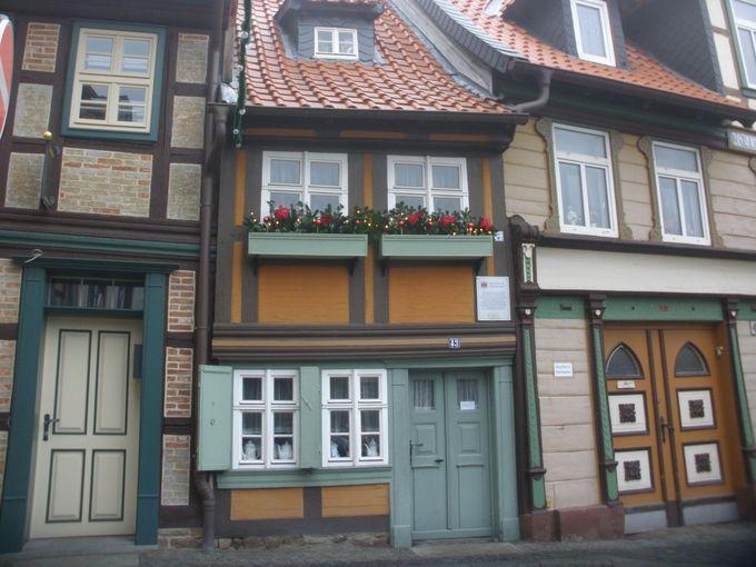 ヴェルニゲローデで一番小っちゃいお家!クラインステ・ハウス