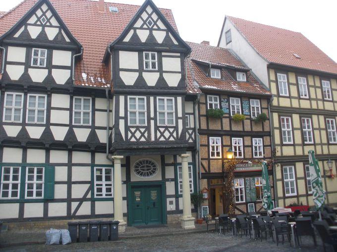 1000年もの昔の姿がそのまま今に残る美しい町並み