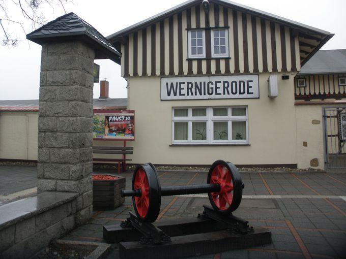 ヴェルニゲローデの町から出発進行!