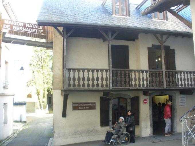 「ボリーの水車小屋」は、ルルドの奇跡の元となった少女ベルナデットの生家
