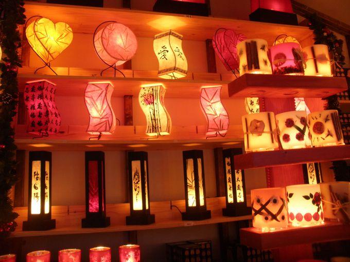 幻想的でロマンティックなランプに和風のものも!