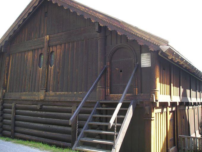 ノルウェー最古の木造建築物は、フィネスロフテット