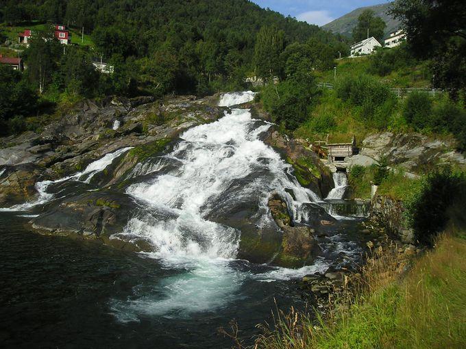 ヘルシルトの滝