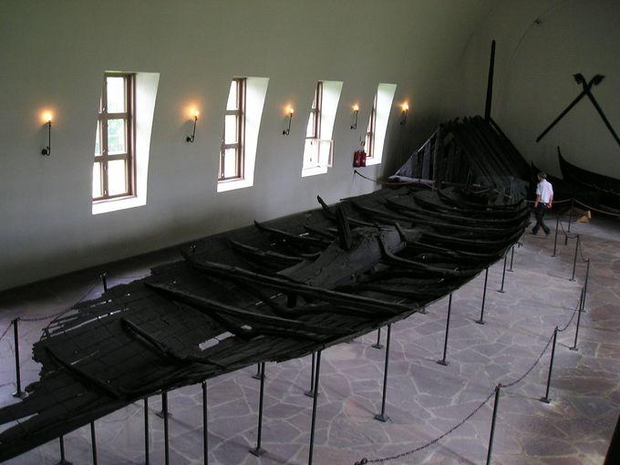 1000年以上の時の流れを経たヴァイキング船の博物館