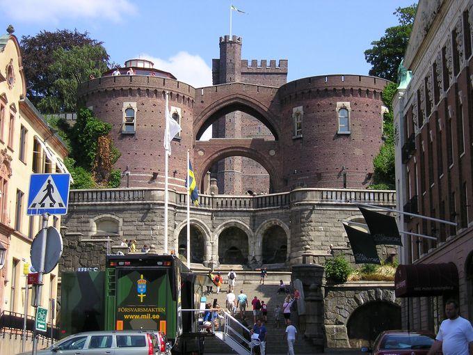スコーネ最古の古城の一つ「シェールナン」