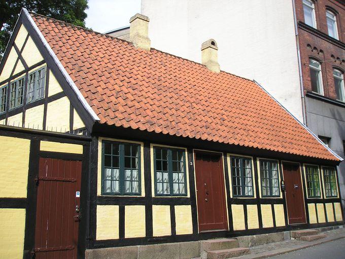童話王アンデルセンの子ども時代の家