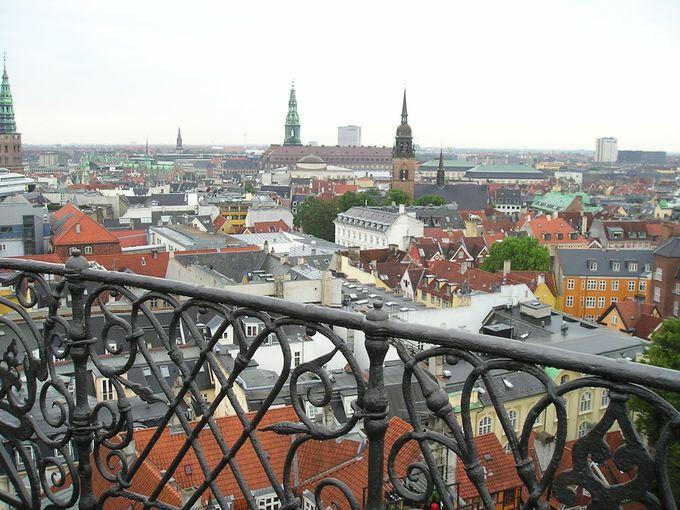 ラウンド・タワーからの眺めを楽しもう!