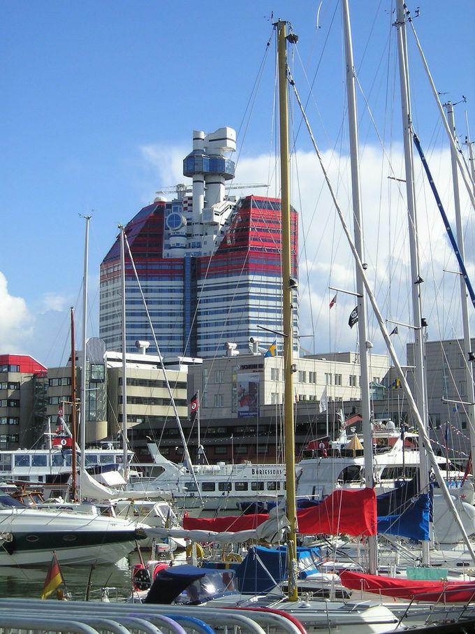その名も「リップ・スティック」!ヨーテボリを一望する見晴らしの塔
