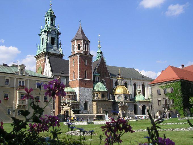 歴代ポーランド王の居城「ヴァヴェル城」