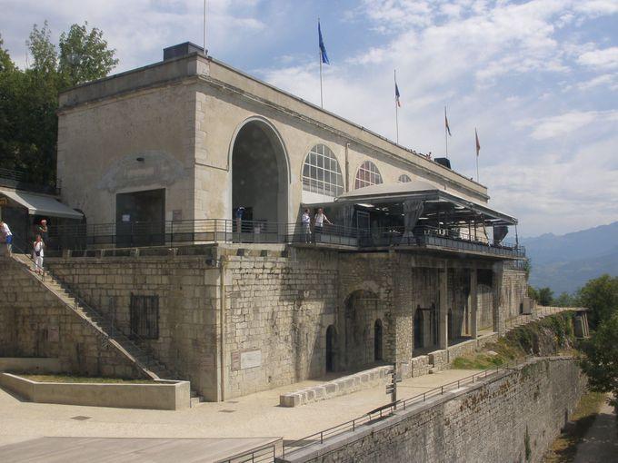バスティーユ城塞の展望台