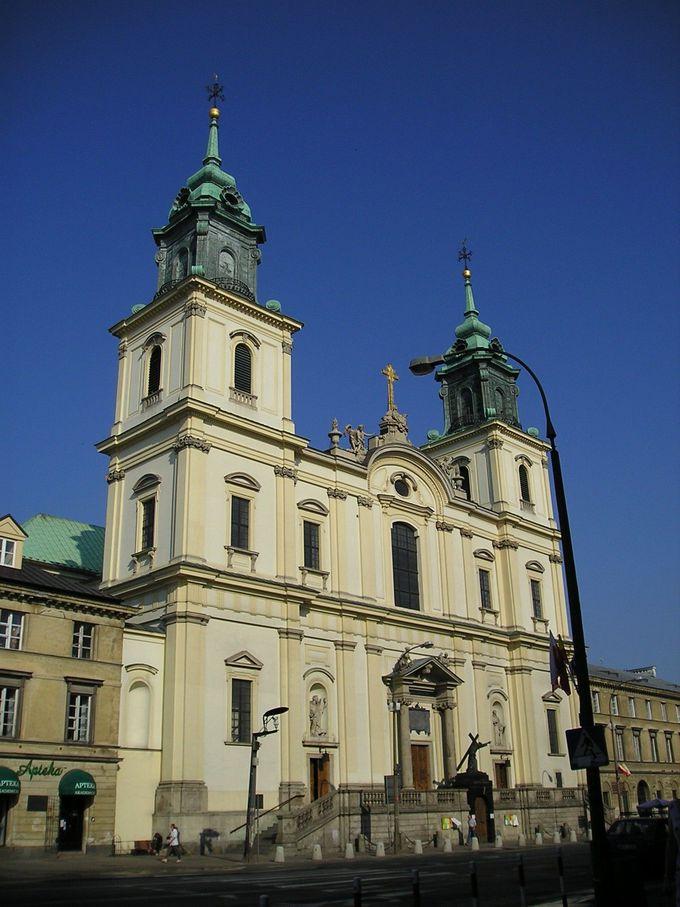 ショパンに最も縁のある教会「聖十字架教会」