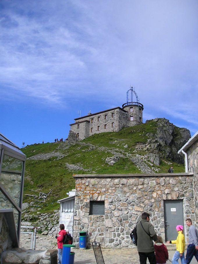 スロヴァキアとの国境を接する大カスプロヴィ山