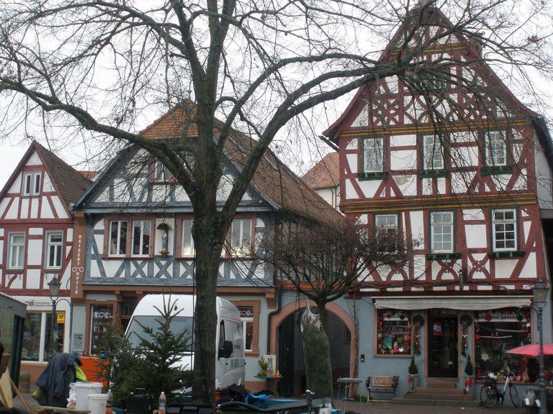 川沿いの木組みの素敵な町・ドイツ「ゼーリゲンシュタット」