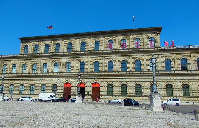 バイエルン王家ヴィッテルスバッハ家の本宮殿「レジデンツ」