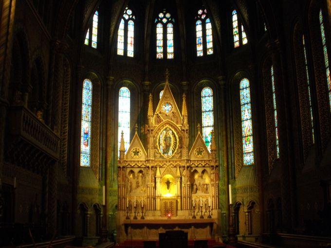ブダペストのシンボル的存在「マーチャーシュ教会」