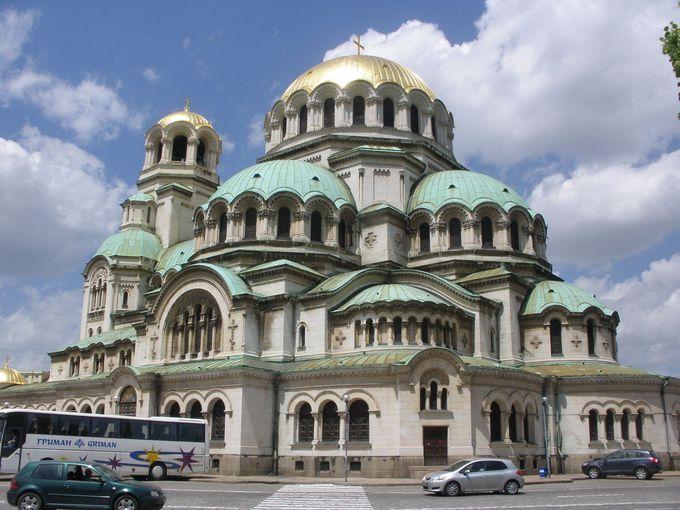 ブルガリア最大で最も美しい「アレクサンダル・ネフスキー寺院」