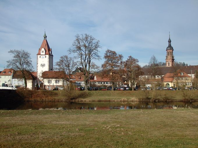 タイムスリップしたような情緒溢れる町並みのゲンゲンバッハ