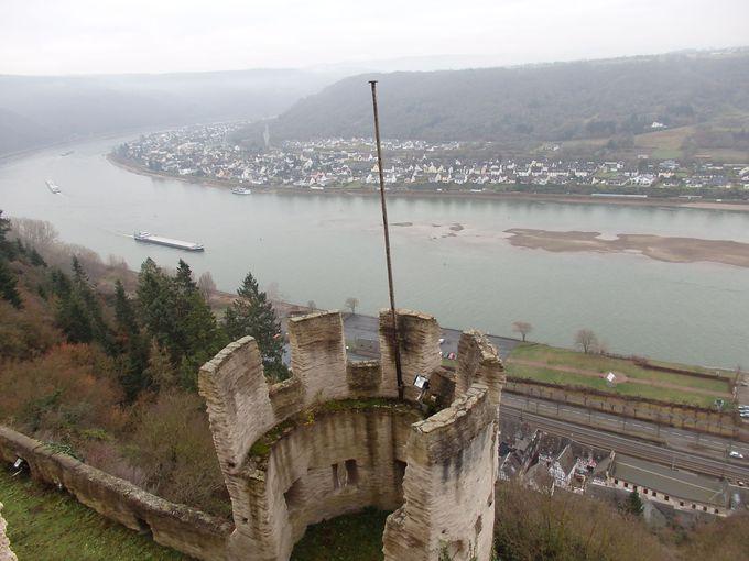 お城からの眺望もお忘れなく!