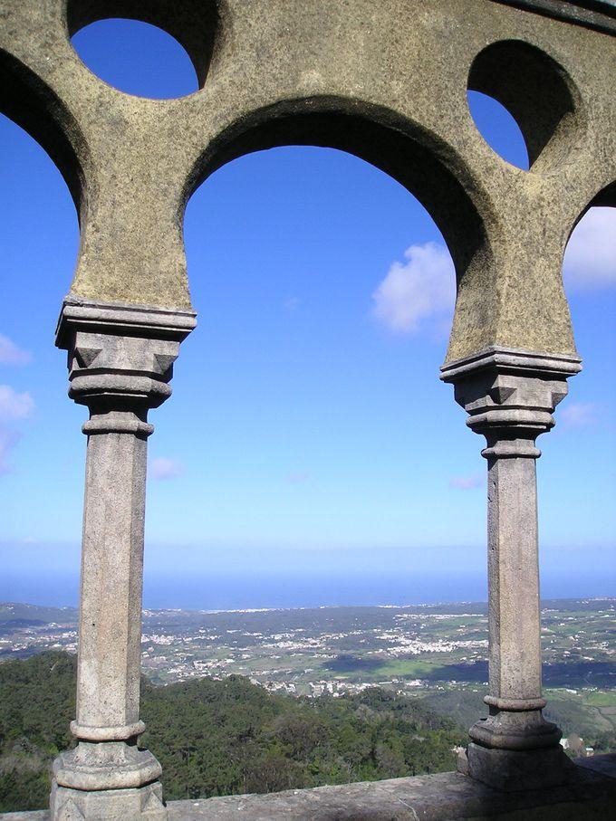 標高500メートルの「ペーナ宮殿」