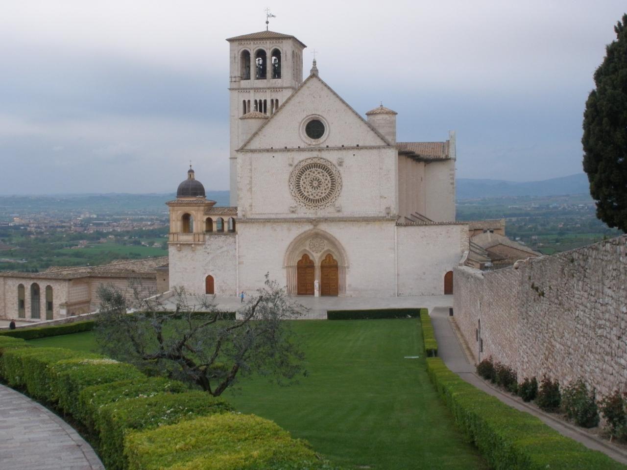 上層の聖堂