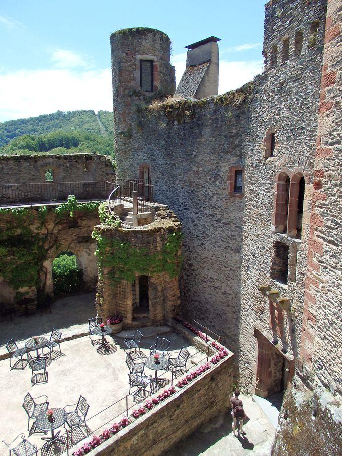 丘の上のお城見学