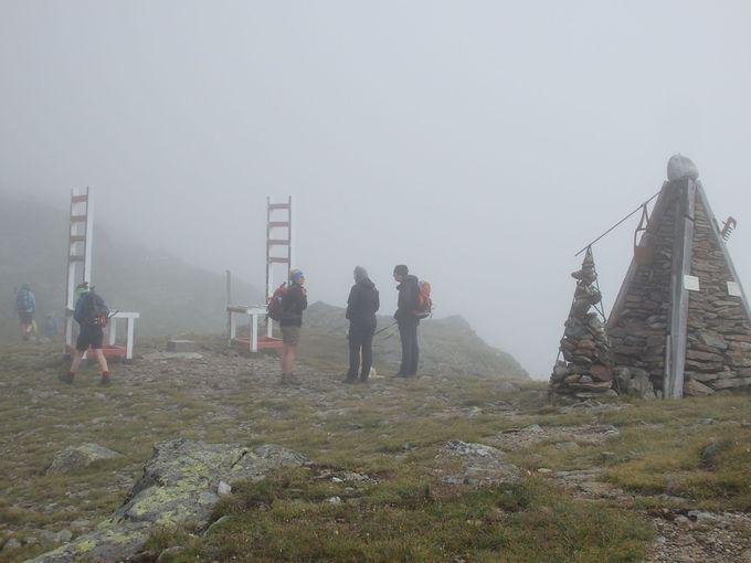 イタリア国境のティンメルスヨッホ峠へも