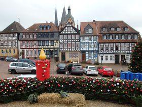 フランクフルトから日帰り「ゲルンハウゼン」中世の木組み建築とクリスマス風景