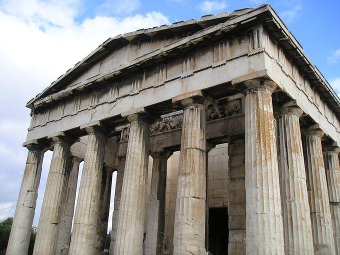 9.ヘファイストス神殿